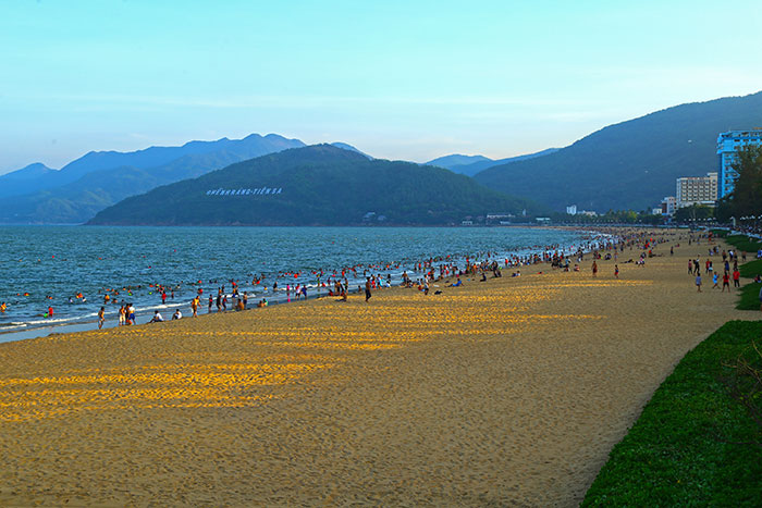 seaside stay quy nhon beautiful beach